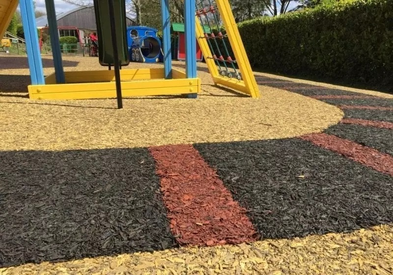 Ocala Safety Surfacing-Bonded Rubber Mulch